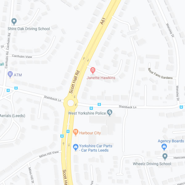 Leeds Dentist Map